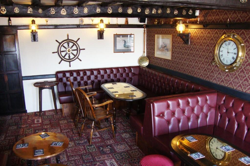 Pub eating area